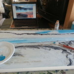 Creating a Yellowstone National Park Inspired Painting