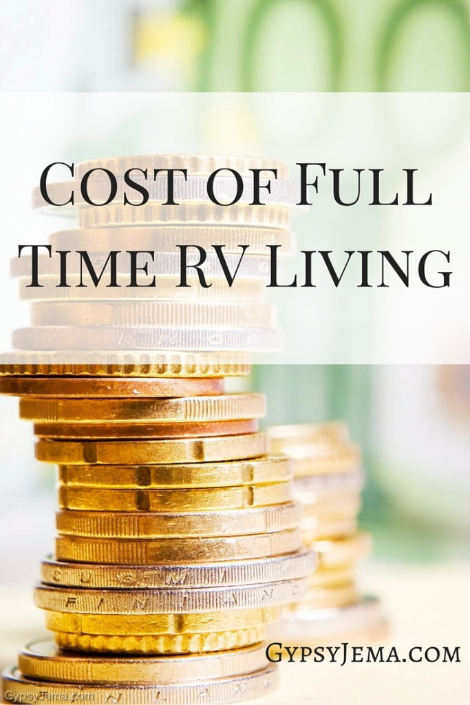 Cost of Full Time RV Living With a Family