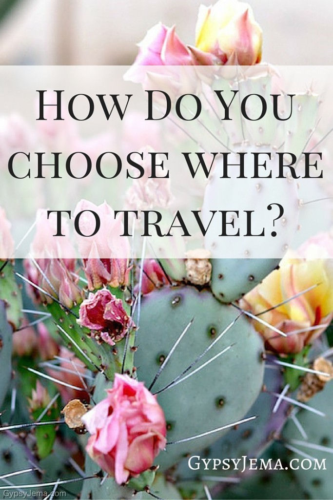 How Do You Choose Where to Travel as a Full Time RVer? This is a question we get asked a lot as we travel the United States. Here are some reasons we choose destinations.