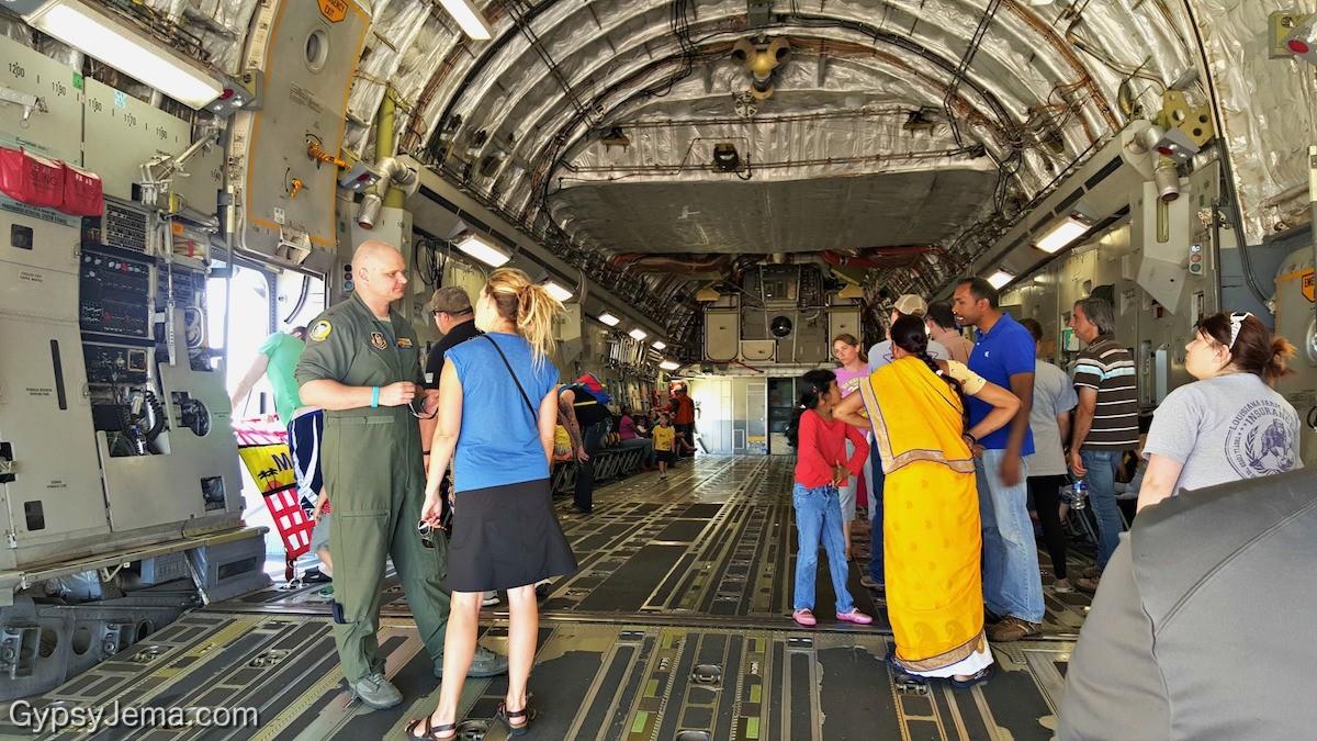 Pilot of the C-17 GlobeMaster III aircraft