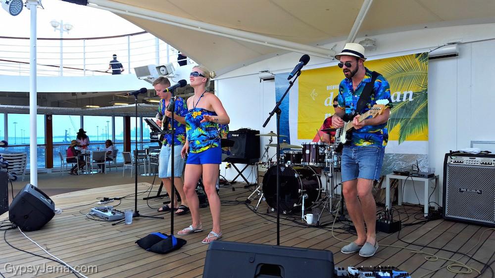 Craze Band on the Adonia of Fathom Travel